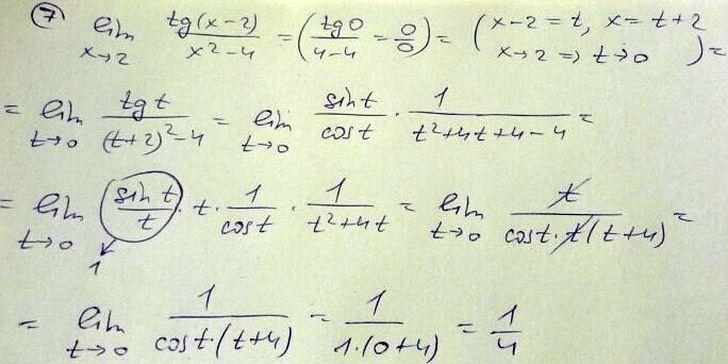 Предел функции. Примеры решения задач. Math24.biz